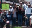 ENTREVISTA | Ignacio del Valle, dirigente del FPDT de Atenco, durante la Marcha del CECOP