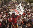 FOTOGALERÍA |#AyotzinapaSomosTodos Marcha en la Ciudad de México