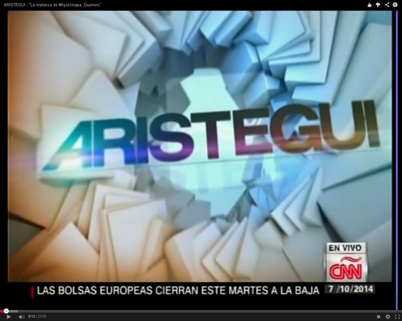 Aristegui Cnn Ayotzinapa