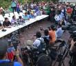 AUDIO | Conferencia de prensa desde Ayotzinapa