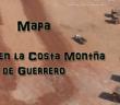 Mapa   Minas en la Costa Montaña de Guerrero