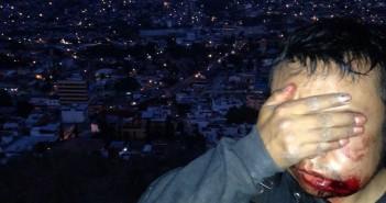 141214 Represion a Normalistas en Chilpancingo