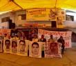 NOTA INFORMATIVA | Se encuentran pueblos indígenas en defensa del territorio con familias y estudiantes de Ayotzinapa.