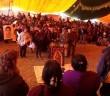 NOTA INFORMATIVA | Fortalece Tribu Yaqui lucha de familias de Ayotzinapa y pueblos del CNI