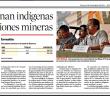 HEMEROTECA | Impugnan indígenas concesiones mineras