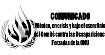 Comunicado - Mexico en crisis CED