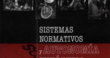 Folleto Sistemas normativos y Autonomia Indigena