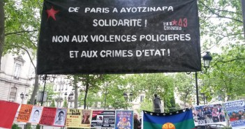 Solidaridad con Ayotzinapa