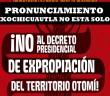 COMUNICADO | ¡ Xochicuautla NO ESTÁ SOLO ! |