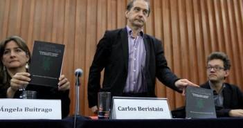 Integrantes del Grupo Interdisciplinario de Expertos Independientes expusieron en conferencia de prensa las acciones que realizarán en la segunda etapa de investigación del caso de los 43 normalistas de Ayotzinapa desaparecidos.  Foto María Luisa Severiano