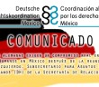 COMUNICADO | Organizaciones alemanas exigen un compromiso real en la defensa de los Derechos Humanos en México después de la reunión con Miguel Ruiz-Cabañas Izquierdo, Subsecretario para Asuntos Multilaterales y Derechos Humanos (DH) de la Secretaría de Relaciones Exteriores de México