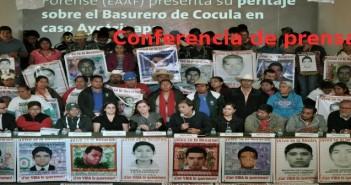 Conferencia peritaje EAAF sobre ayotzinapa