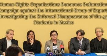 Denounce Defamation Campaign against GIEI