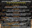 CARAVANA | +43 por la Memoria y la Esperanza