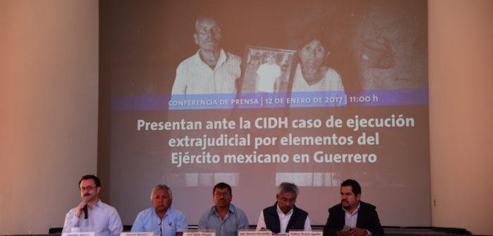 COMUNICADO | ONG's denuncian ante la CIDH ejecución extrajudicial de indígena Naua por parte del Ejército mexicano