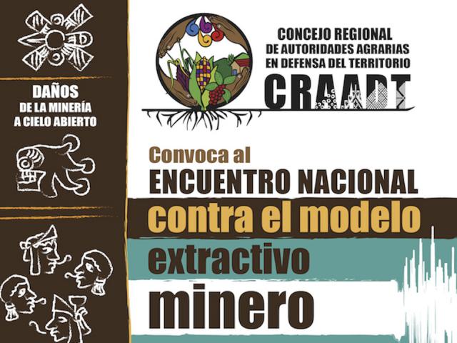 Encuentro Nacional Contra el Modelo Extractivo Minero