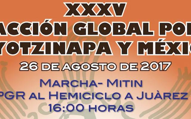 XXXV ACCION GLOBAL POR AYOTZINAPA Y MÉXICO