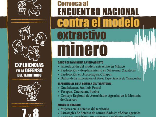 MAPA/ PROYECTOS EXTRACTIVOS DE MINERÍA EN GUERRERO Y EN LA COSTA-MONTAÑA