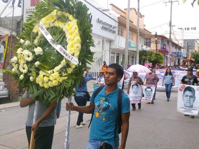 COMUNICADO | Un año de impunidad del asesinato de los dos normalistas de Ayotzinapa