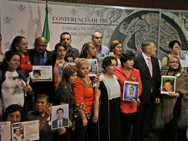 Familias y organizaciones saludan la aprobación de la Ley en materia de Desaparición
