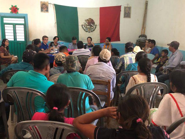 FOTOGALERÍA | Visita de la Relatora Especial sobre los Derechos de los Pueblos Indígenas a Tlatzala, Guerrero |