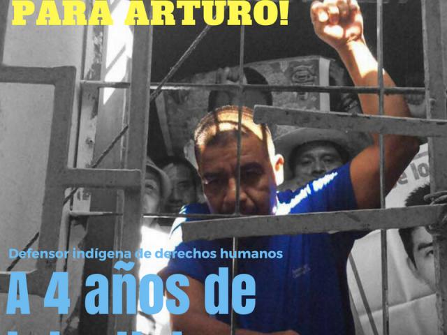Piden en Senado, libertad para el defensor na savi: Arturo Campos Herrera