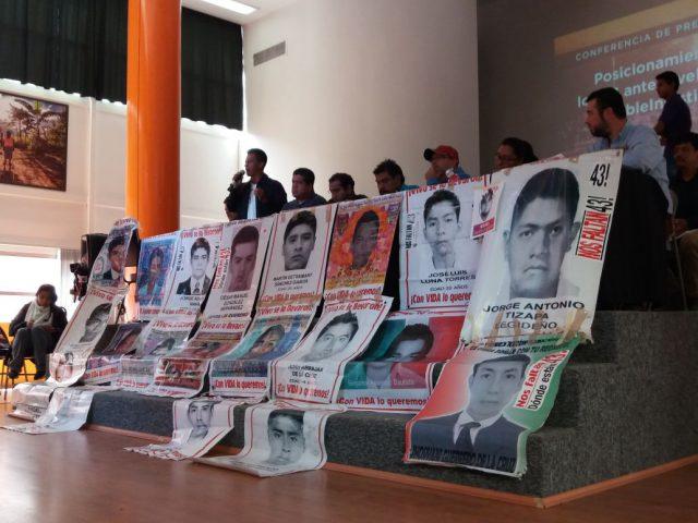 Nota Informativa | De suma relevancia el informe de la ONU #DobleInjusticia afirman familiares de los 43
