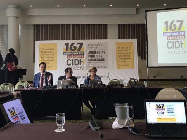 COMUNICADO | Estado Mexicano exhibe falta de resultados en audiencia de la CIDH en Colombia |