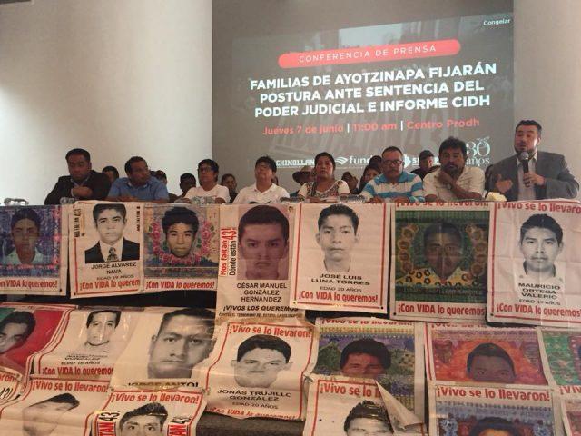 COMUNICADO | Ayotzinapa: exigen al Presidente de la República muestra de voluntad política ante nueva Comisión Investigadora |