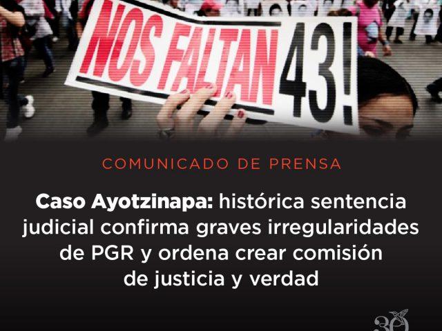 Comunicado / AYOTZINAPA43