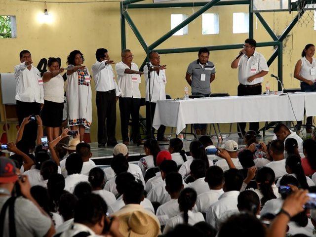 FOTOGALERÍA | Los pueblos indígenas en el escenario político municipal de Ayutla: elección por usos y costumbres