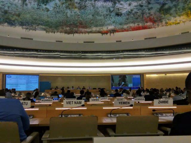 COMUNICADO | Participa Tlachinollan en la presentación del Informe de la Relatora Especial sobre Pueblos Indígenas Victoria Tauli-Corpuz sobre su visita a México ante Consejo de DH de la ONU