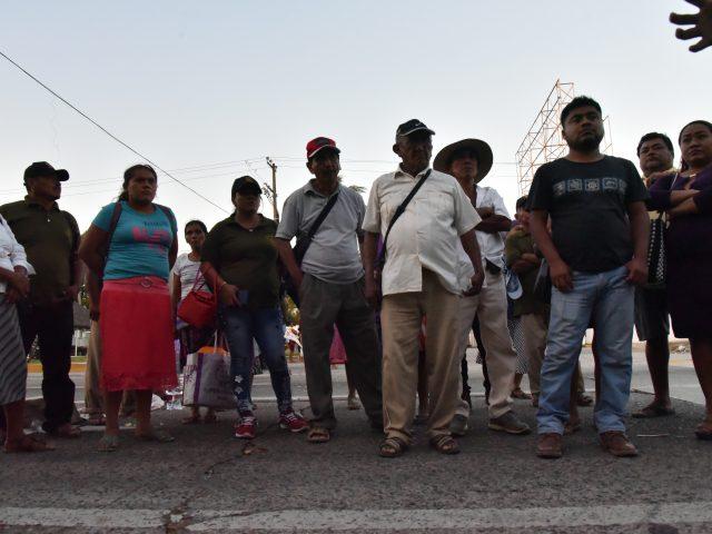 Fotogalería | Bloqueo en exigencia de la libertad de los presos del CECOP