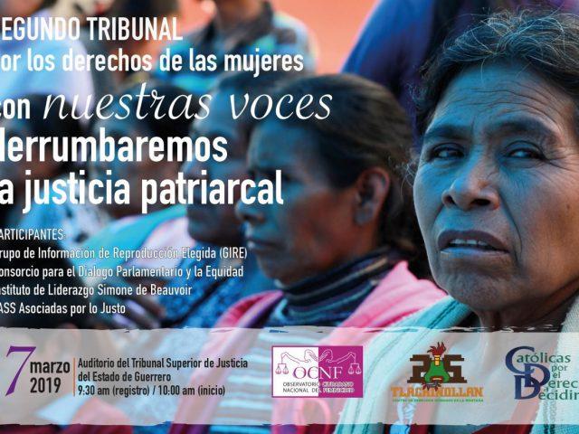 OPINIÓN | Con nuestras voces derrumbaremos la justicia patriarcal