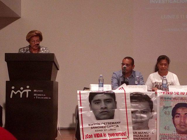 Una gota de esperanza. Pendientes y desafíos en el caso Ayotzinapa: Esmeralda Arosemena, presidenta de la CIDH