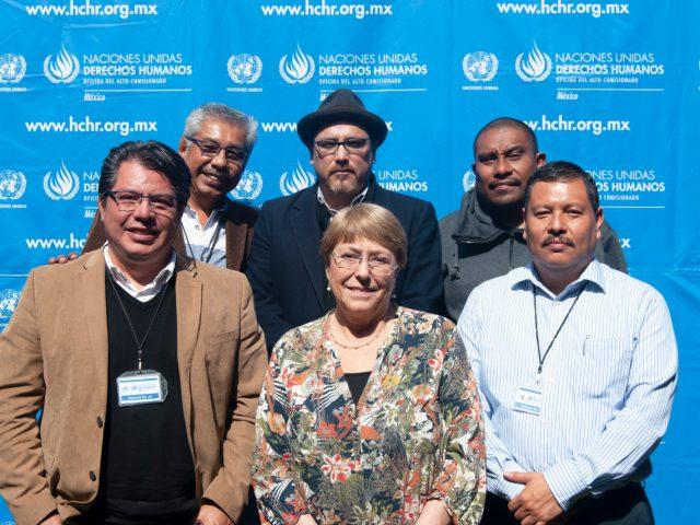 Declaración | De la Alta Comisionada de Naciones Unidas para los Derechos Humanos, Michelle Bachelet, con motivo de su visita a México