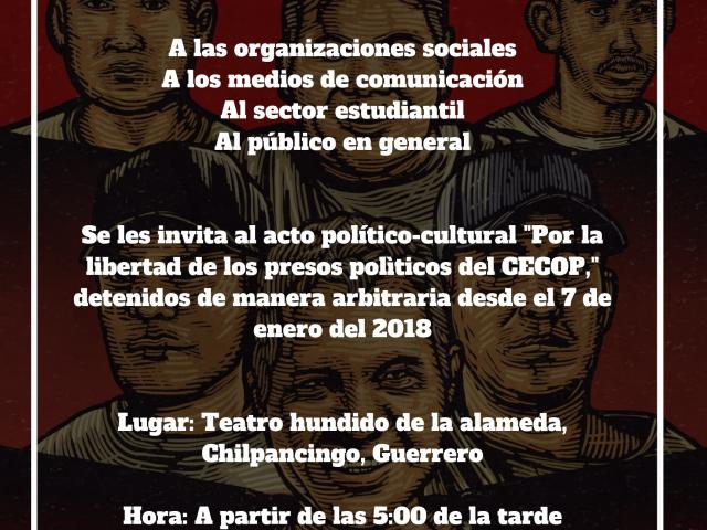 Radio | La apalabra que ayuda hablamos sobre la 56 acción por ayotzinapa y los eventos del CECOP