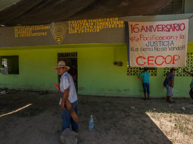 NOTA INFORMATIVA | 16 años del CECOP: hacia la construcción del tejido comunitario en los Bienes Comunales de Cacahuatepec