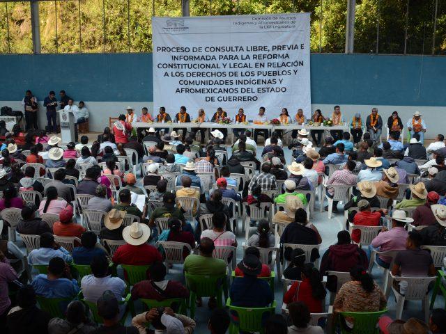 NOTA INFORMATIVA | Foros de consulta. Prolegómenos sobre derechos de los pueblos indígenas y afromexicanos