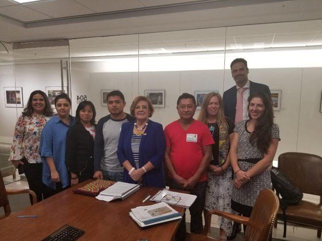 Boletín | Se reúnen en Washington familiares de Normalistas ejecutados en 2011 con la presidenta y el secretario ejecutivo de la CIDH