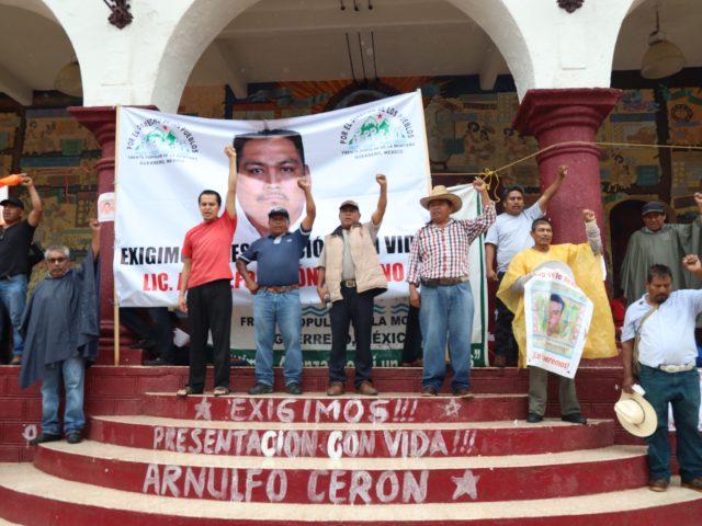 Comunicado | Organizaciones de la sociedad civil condenamos y exigimos justicia por la desaparición y asesinato del defensor Arnulfo Cerón