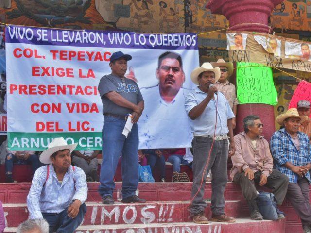 COMUNICADO | Inicia caravana «Nos sigues faltando, 43» en Tlapa
