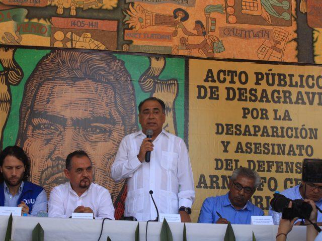NOTA INFORMATIVA | Entrega del Ayuntamiento Municipal de Tlapa. Es peligroso ser defensor en la Montaña de Guerrero