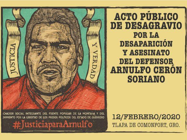 COMUNICADO | Segunda visita de organizaciones de la sociedad civil a Tlapa en solidaridad con Arnulfo Cerón Soriano