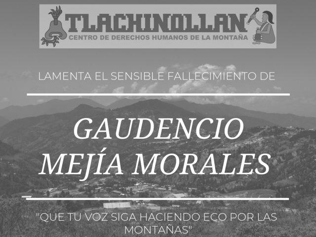 PROGRAMA DE RADIO | Gaudencio Mejía: «núnca más un México sin los pueblos indígenas»