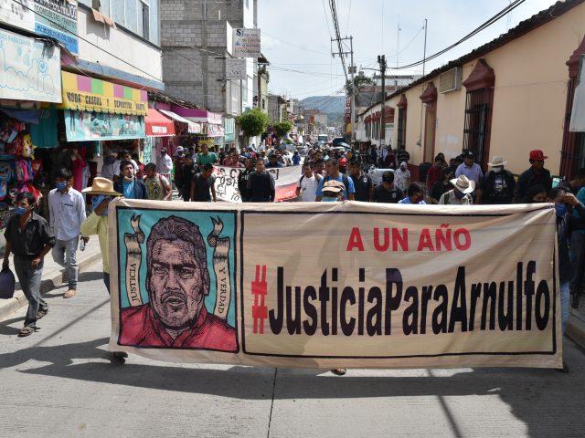 BOLETÍN | A un año del asesinato del defensor Arnulfo Cerón, la justicia pendiente