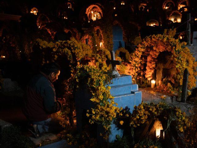"""FOTOREPORTAJE  """"Vikó Ndi"""": la fiesta de los muertos en la Montaña de Guerrero."""
